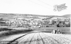 Carhampton, From Blue Anchor Hill c.1960