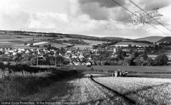 Photo of Carhampton, From Blue Anchor Hill c.1965