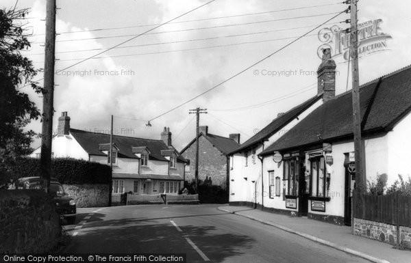 Photo of Carhampton, Main Street c.1965