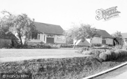 Carhampton, Orchard Close c.1960