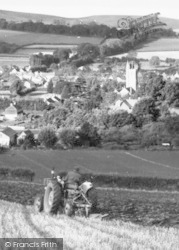 Carhampton, Ploughing The Field c.1960
