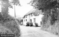 Carhampton, Thatch Cottages c.1955