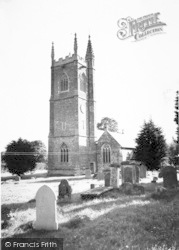 Carhampton, The Church c.1960