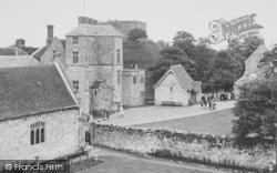 Carisbrooke, Castle c.1955