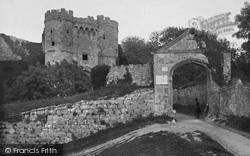 Carisbrooke, Castle, Elizabethan Entrance c.1900