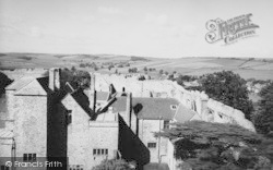 Carisbrooke, Castle, From The Keep c.1960