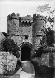 Carisbrooke, Castle Gateway 1890