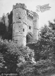 Carisbrooke, Castle, Gateway c.1900