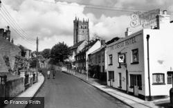 Carisbrooke, Castle Hotel And Church c.1955