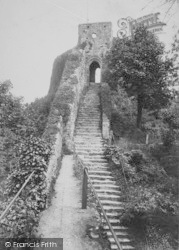 Carisbrooke, Castle, The Keep 1908