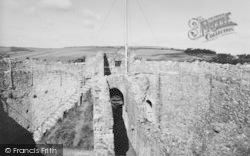 Carisbrooke, Castle, The Keep c.1960