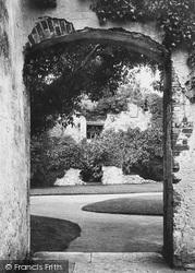 Carisbrooke, Castle, The King Charles Window 1890