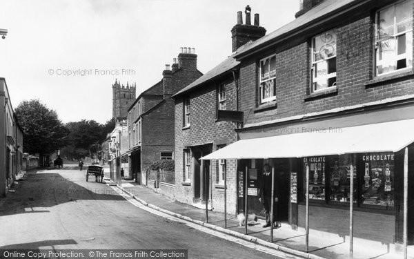 Photo of Carisbrooke, Post Office 1913