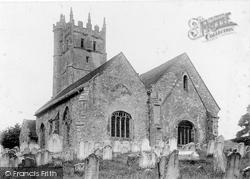 Carisbrooke, St Mary's Church c.1900
