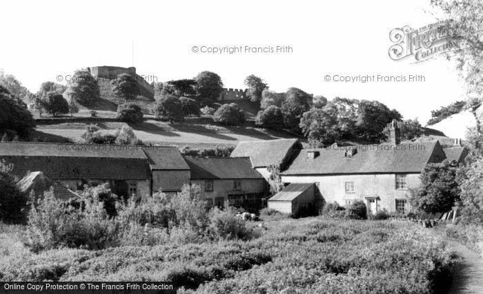 Carisbrooke, the Castle and the Old Mill c1955