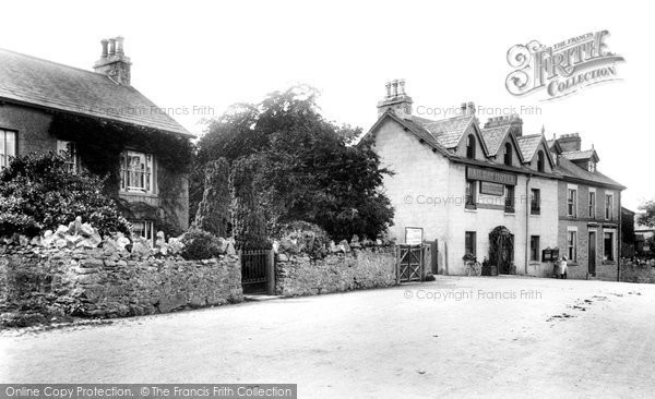 Cark In Cartmel, Railway Hotel 1906