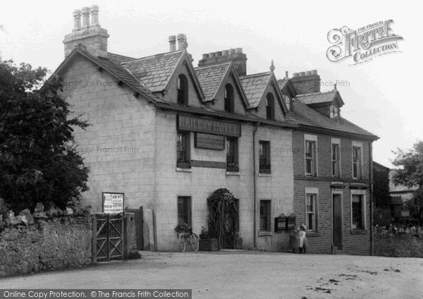 Photo of Cark In Cartmel, Railway Hotel 1906, ref. 56109x
