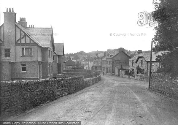 Cark In Cartmel, Station Road 1912
