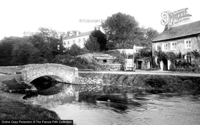Cark In Cartmel, the Bridge 1897