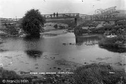 Carleton, River Aire Bridge c.1900