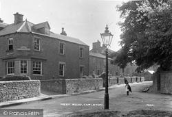 Carleton, West Road c.1900