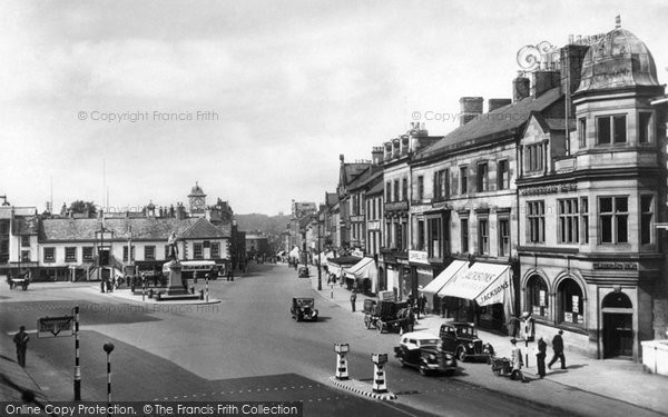 Carlisle, Market Place 1937.  (Neg. C211001)  � Copyright The Francis Frith Collection 2008. http://www.francisfrith.com