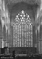 Carlisle, The Cathedral, Choir East c.1862