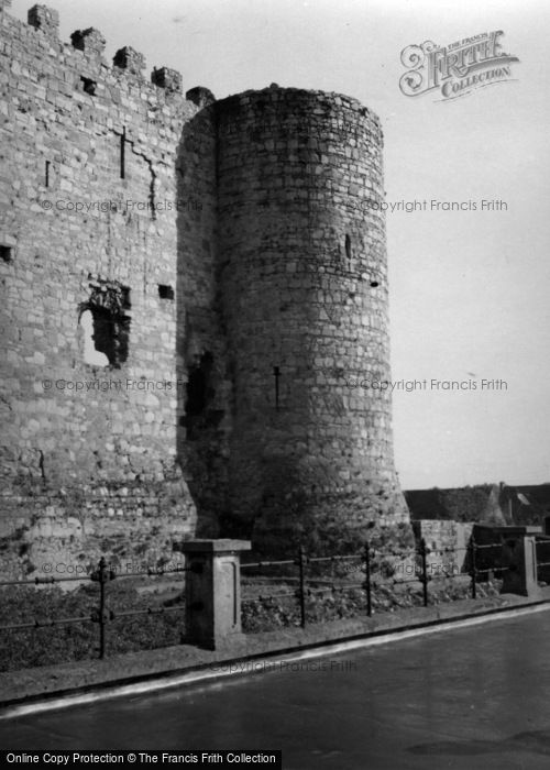 Photo of Carlow, Castle 1957