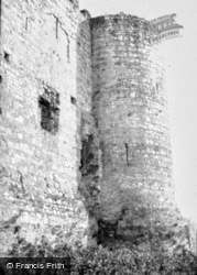 Carlow, Castle Tower 1957, Carlow Town
