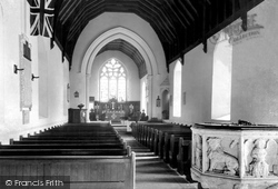 Carlton Colville, Interior Of The Parish Church c.1951
