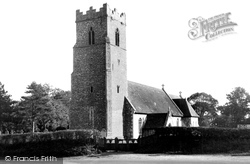 St Peter's Church c.1955, Carlton Colville