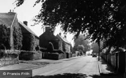 Carlton Husthwaite, A View Of The Village c.1955