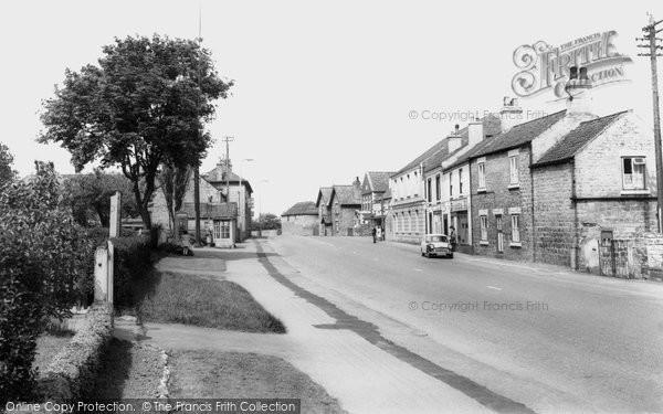 Photo of Carlton In Lindrick, High Road c.1965