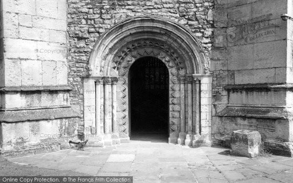 Carlton-In-Lindrick, the Church Door c1960