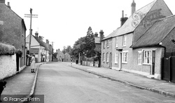 Carlton, The Village c.1955