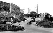 Carmarthen, Castle Hill 1950