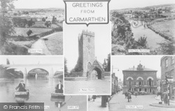 Carmarthen, Composite c.1955