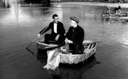 Carmarthen, Coracle Men c.1950