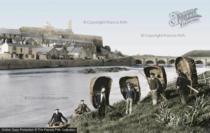 Photo of Carmarthen, Coracles 1898