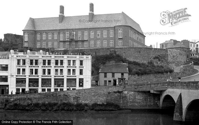Photo of Carmarthen, County Council Offices 1949