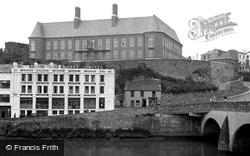 Carmarthen, County Council Offices 1949