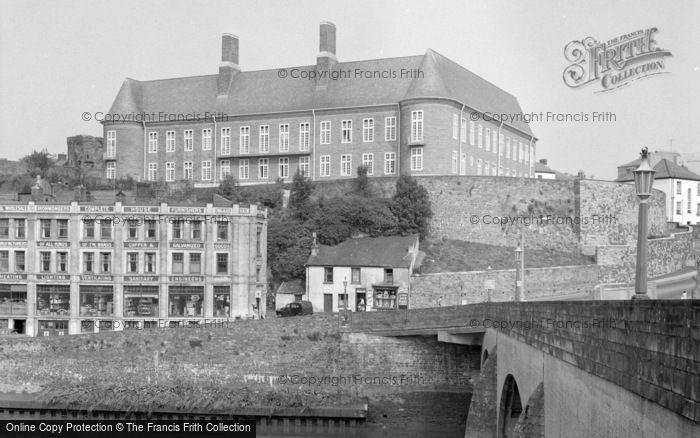 Photo of Carmarthen, County Hall 1959