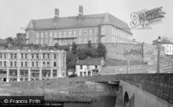 Carmarthen, County Hall 1959