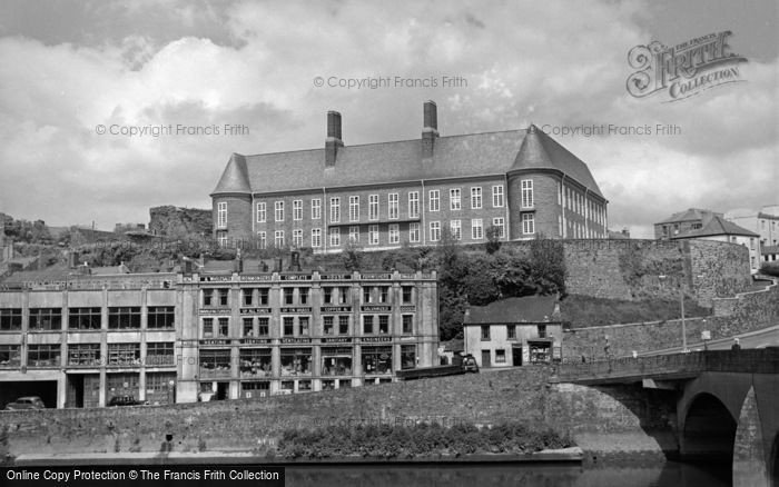 Photo of Carmarthen, County Hall 1962