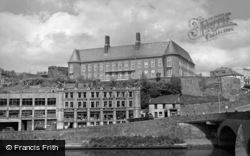 Carmarthen, County Hall 1962