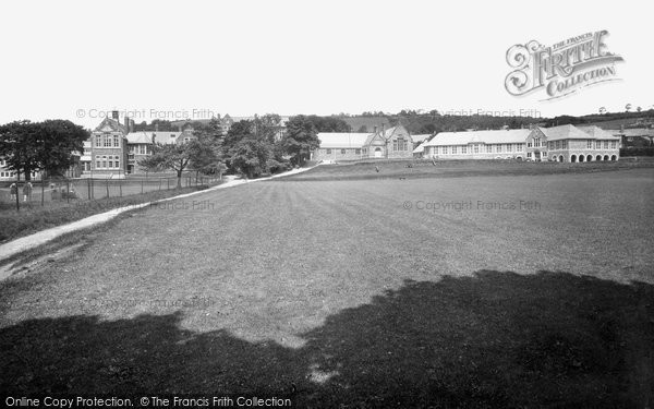 Photo of Carmarthen, County Schools and Grammar School 1936, ref. 87419
