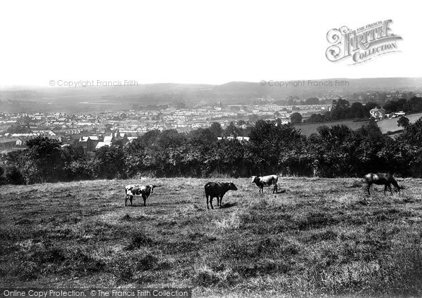 Photo of Carmarthen, From Penlan 1910