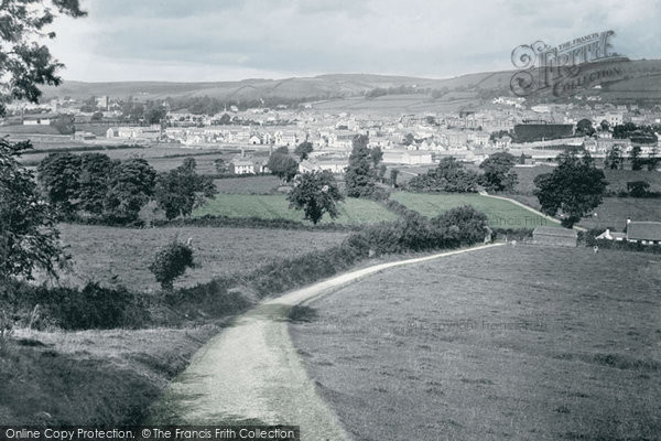 Photo of Carmarthen, General View 1890