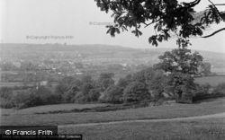 Carmarthen, General View 1949