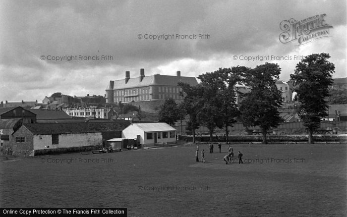 Photo of Carmarthen, General View 1950